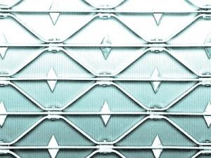 Wabenform: Gerade Wabe mit Querstab und Spitze (nur Stahl und Edelstahl)